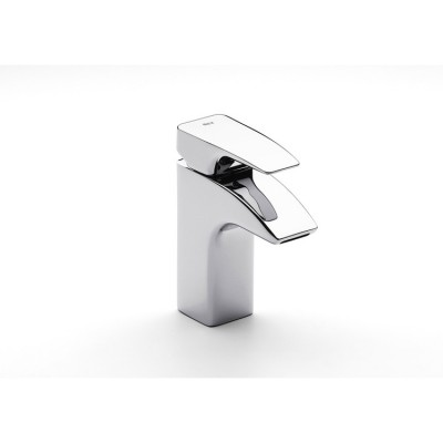 Roca Thesis Basin mixer with retractable chain