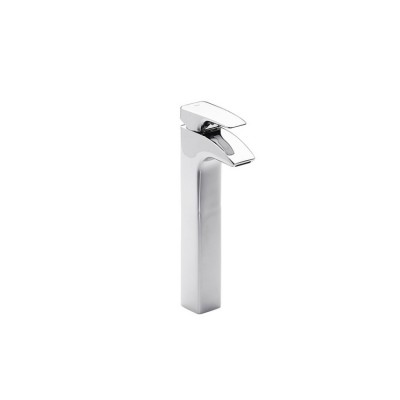 Roca Thesis High-neck basin mixer with pop-up waste