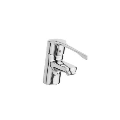 Roca Victoria PRO - Basin mixer with chain connector. Handle for People with Reduced Mobility.