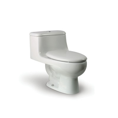 Roca Boston One piece WC with vertical outlet. S-Trap 305 mm