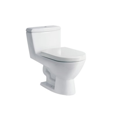 Roca Elda One piece WC with vertical outlet. S-Trap 305 mm.