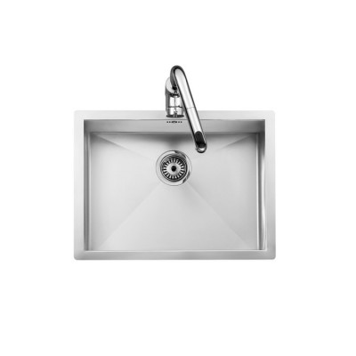 Roca X-Tra Stainless steel single bowl kitchen sink